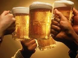 Peter van Kouteren zet het bier al koud...