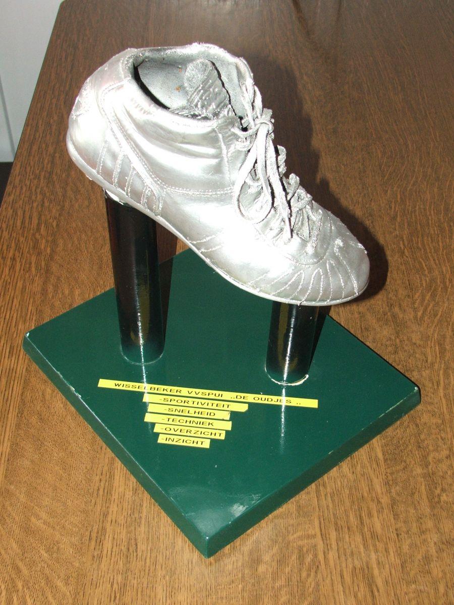Zilveren schoen voor Jimmy